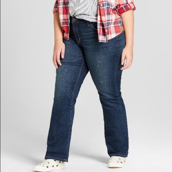 5101e963fec NWT Universal Thread skinny bootcut jeans 20 W